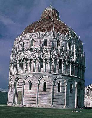 Battistero - Pisa